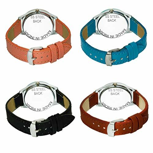 Acnos Analogue Multicolour Dial Women's Watch - Pack of 4