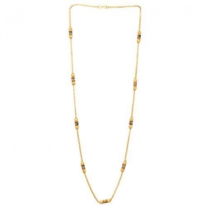Gold Plated Traditional Design Long Necklace/Chain for Women and Girls by Shreyadzines