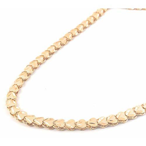 AFJ Gold 1 Gram Gold Plated Traditional Designer Chains for Women & Girls (24, Design1) (OAT/CH-505)