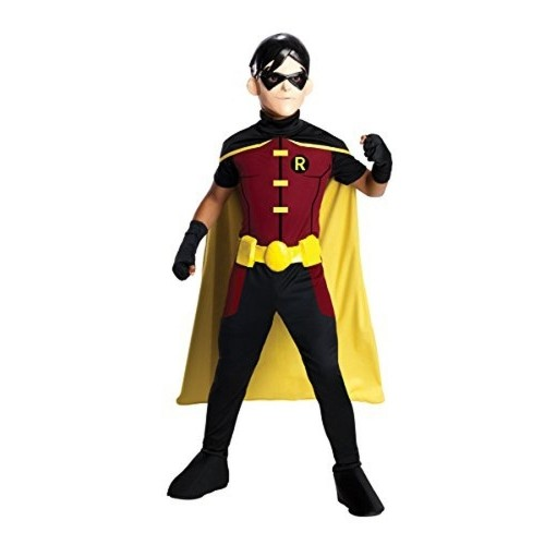 Rubie's Black Robin Costume With Cape