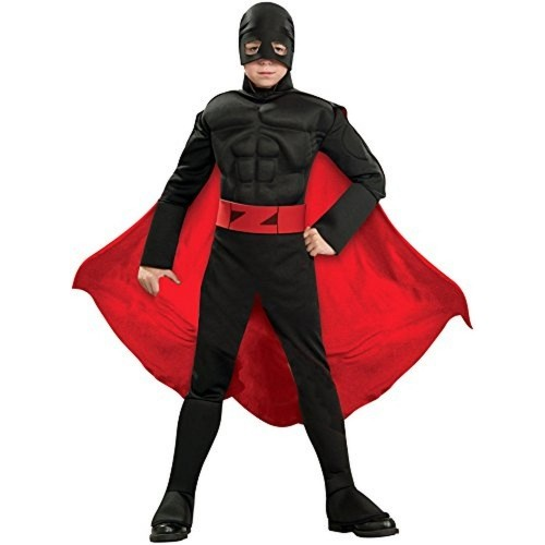 Rubie's Black Deluxe Costume With Cape