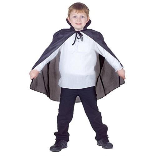 Underwraps Black Cloak Child Accessory