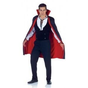 Underwraps NavyBlue Cape Costume For Men