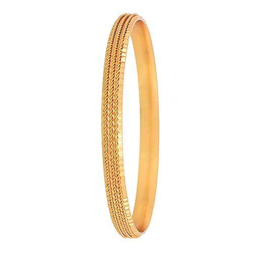 Zeneme Traditional Gold Plated Designer Bangles Jewellery for Women & Girls (2.4)