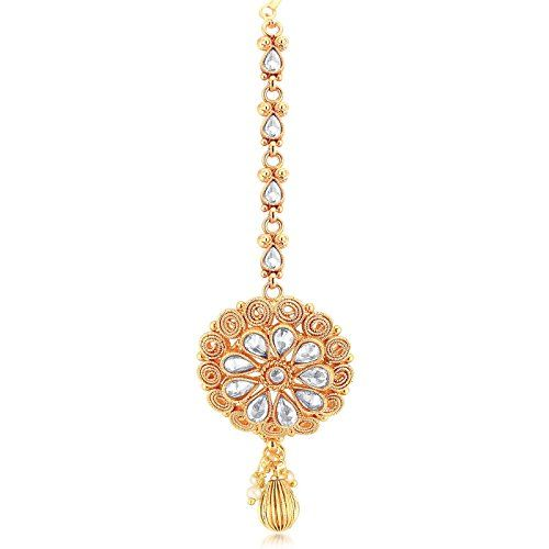 Sukkhi Exclusive Gold Plated Wedding Jewellery Kundan Choker Necklace Set For Women (N73395)