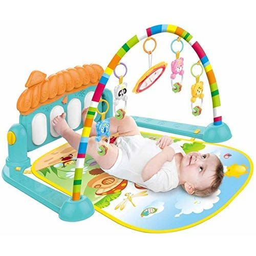 Galaxy Hi-Tech Latest Babys Piano Gym Kick and Play Multi-Function ABS High Grade Plastic Piano Baby Gym and Fitness Rack with Hanging Rattles, Music &