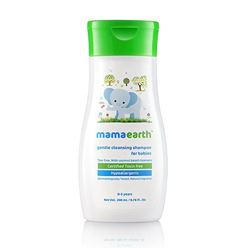 Mamaearth Gentle Cleansing Shampoo for babies (200 ml, 0-5 Yrs) and Mamaearth Deeply nourishing wash for babies (200 ml, 0-5 Yrs)