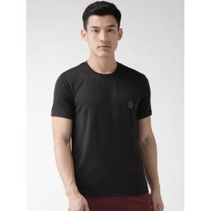 CHKOKKO Men's Solid Regular Dry Fit Gym T-Shirt