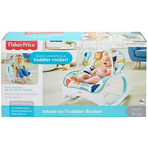 Fisher-Price Original Infant-to-Toddler Baby Rocker
