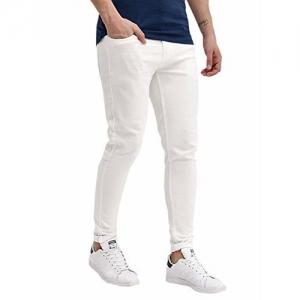 Generic Mens White Jeans (28)