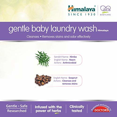 Himalaya Gentle Baby Laundry Wash 1 Ltr (Bottle)