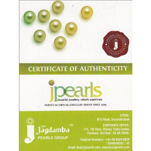 Sri Jagdamba Pearls Dealer Pearl Pendant Set for Women