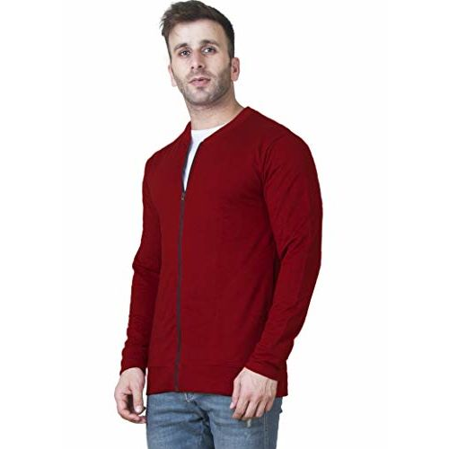 Veirdo Men's Cotton Sweatshirt (Multicolour, Small)