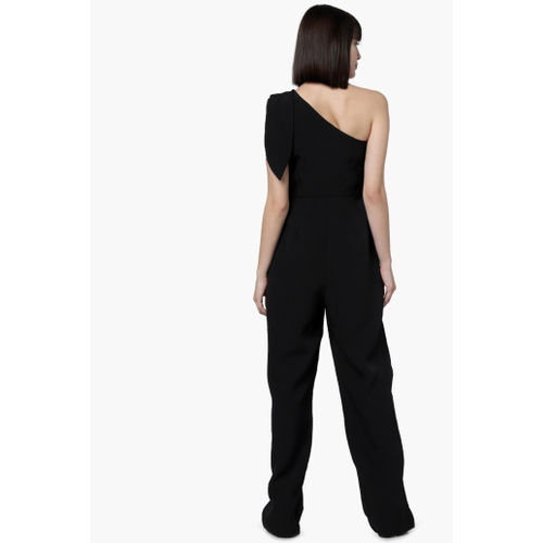 VERO MODA Solid One-Shoulder Jumpsuit