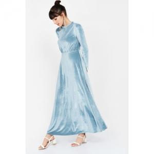 VERO MODA Solid Maxi Dress