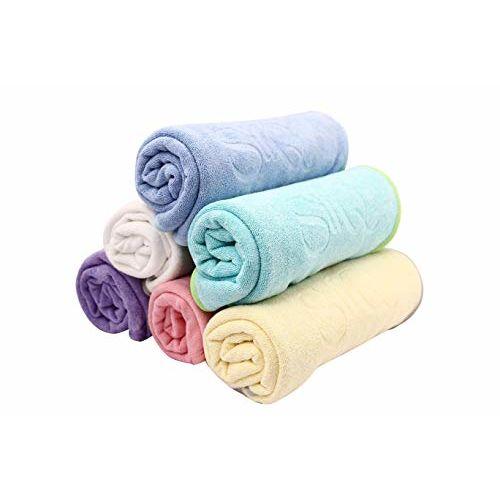 Quick Dry Sil-Q Ultra Soft Baby Bath Towel (Blue, 60 x 90 cm)
