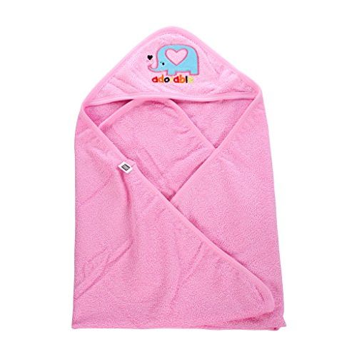 Mee Mee Soft Absorbent Baby Towel (Baby Pink)