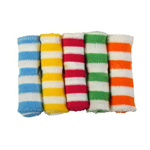 Brim hugs & cuddles Wash Cloth and Face Towel for Born Baby(Pack of 5)
