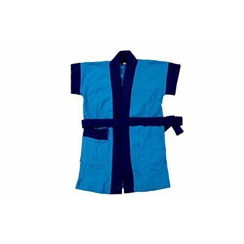 Generic Kids Bath Gown Bathrobe Bath Towel Bathing Accessories for Baby boy 2-3 Year Color Blue