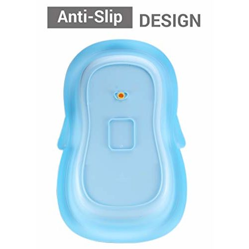 Little Pumpkin Kiddie Kingdom Baby Bath tub for Kids of 0 to 3 Years (Blue)