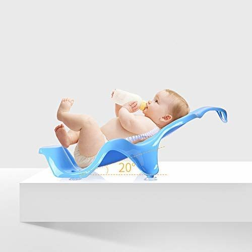 LWVAX Multi Color Bathroom Baby Supplies ABS Plastic Baby Bath tub Bath Tub and Bath Sling Size :- 80 x 50 x 27 cm