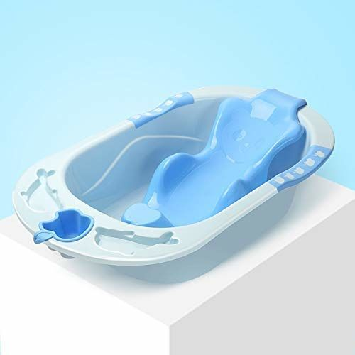 Hopz European Standard Baby Bath tub Bathing,Newborn Bath tub Baby Bath tub Plastic Non-Slip Bathtub Safety Security Shower Bathtub (Blue) (Blue)
