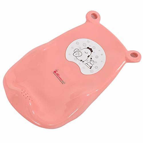 Mummamia Multistage Bath Tub with Removable Ergonomic Shaped Infant Bath Tray (0 to2+ Years) (Pink)