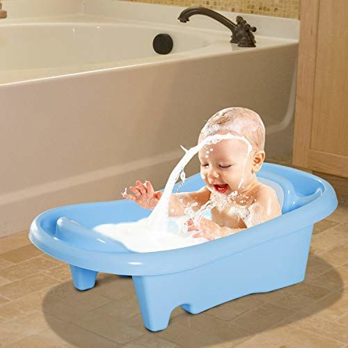 Baybee Amdia Bath tub for Newborn to 18 Month -(Blue)