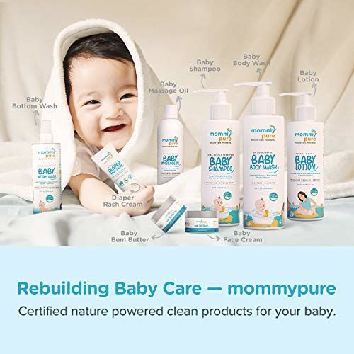 MommyPure Oh So Blissful! Baby Body Wash | Natural, Tear-Free & Gentle Baby Body Cleanser | Dermatologically Tested - 120ml