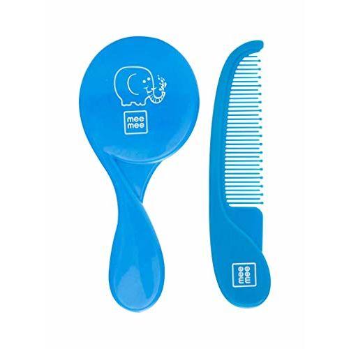 Mee Mee Comb and Brush Set (Premium, Blue)