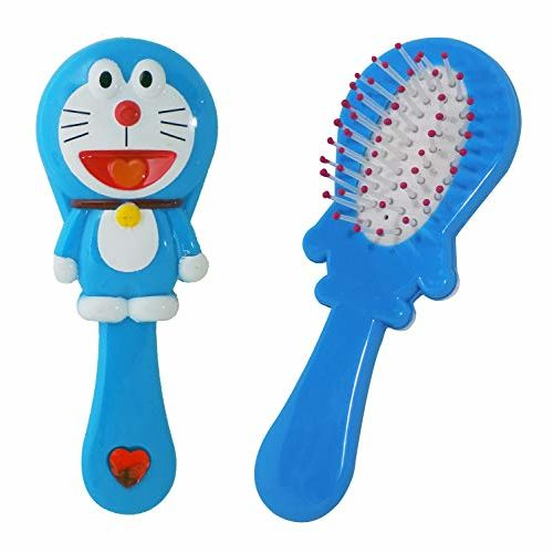 Majik Kids Detangler Hair Brush For Hair Care And Grooming For Newborns And Toddlers Baby Shower Gift Item Blue