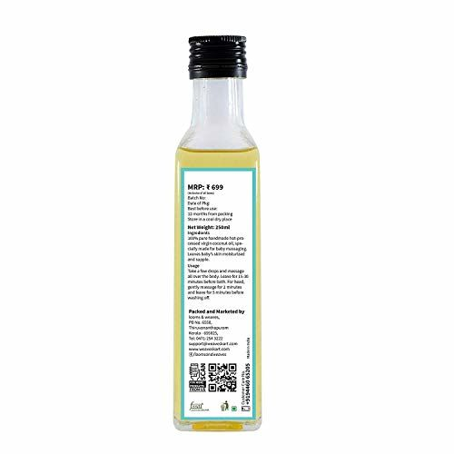 looms & weaves - Baby Massage Oil (for Hair and Body) - 250 ML