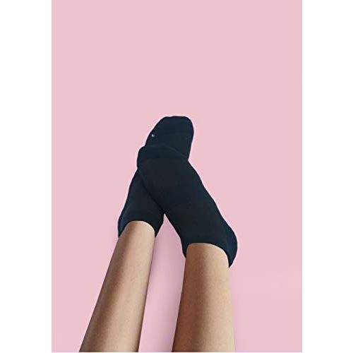 Prime deal Unisex Ankle Length Organic Combed Cotton Socks (IND/UK 7-11 Shoe Size) For Running, Sports & Gym, Anti Odour Breathable Durable Anti Blister