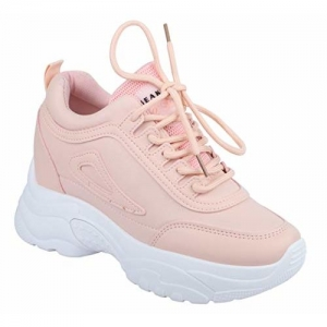 DEKKIN High Heel Ladies Girls Sports Running Shoes Sneakers