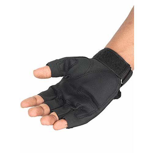 FabSeasons Cycling, Riding, Mountain Bike, Half Finger Anti-Slip Gloves for Men & Women
