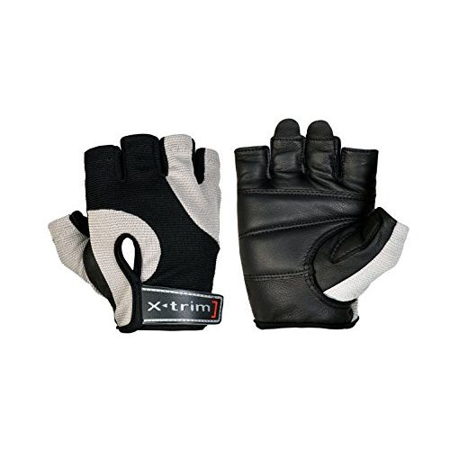 Xtrim - Endura Washable Leather Weight Lifting Gloves For Men ( M / L / Xl / Xxl )