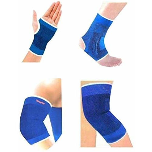 Mist Set of Ankle, Palm, Knee, Elbow Support, Gym Support