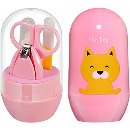 First Trend Pocket Size Nail Care Set (Pink)