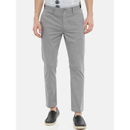 Breakbounce Streetwear grey solid chinos