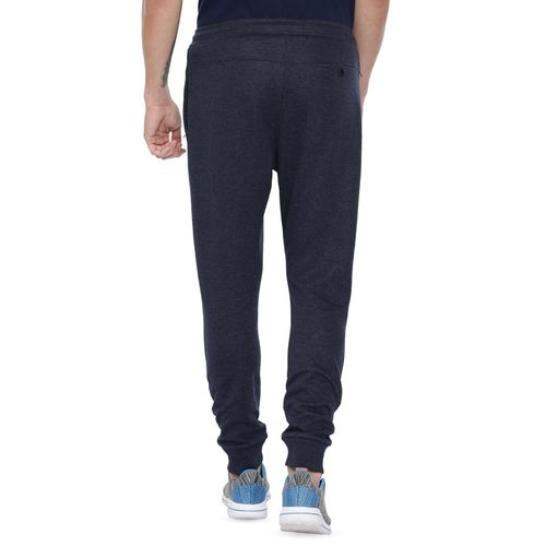 PROLINE navy blue side taped joggers
