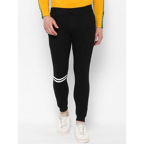 Urbano Fashion black striped jogger