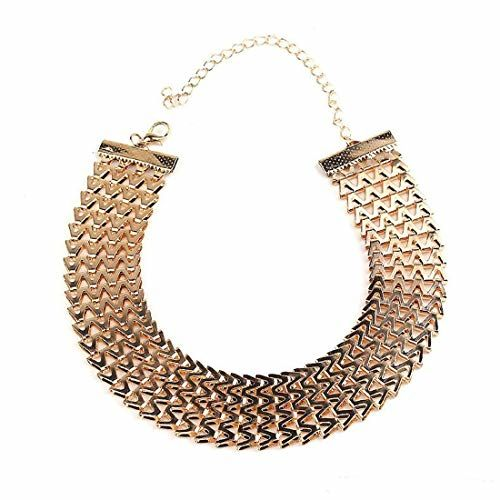 Jewels Galaxy Delicate Design Multi Layered Gold Plated Plushy Necklace for Women/Girls
