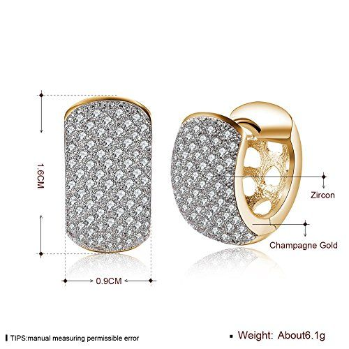 YouBella Jewellery Earrings for women stylish Latest Design Crystal Earrings for Girls and Women (Style 1)