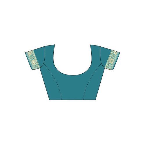 Sainoor self design banarasi saree with blouse