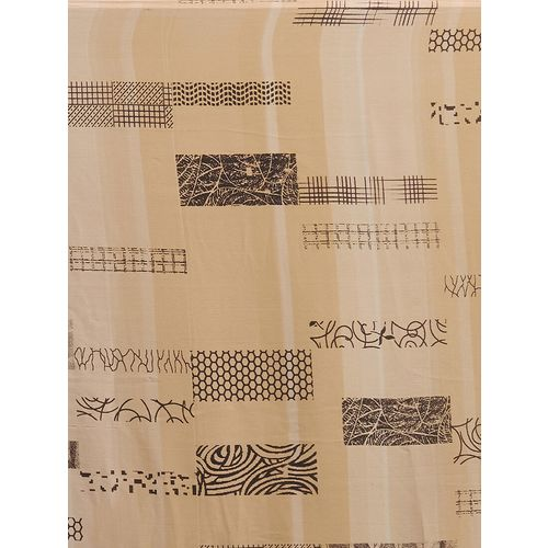 shaily abstract printed saree with blouse