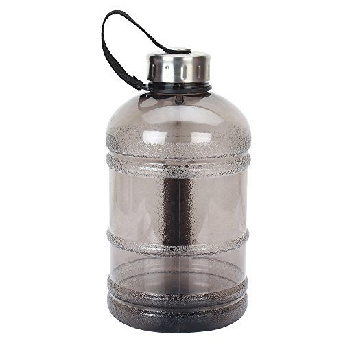 iShake 2.2 Litre/1.89 Litre Gallon Water Bottle, PETG Eco-Friendly Sports Fitness Exercise Water Jug for Gym, Yoga, Running, Outdoors, Cycling, and Camping.