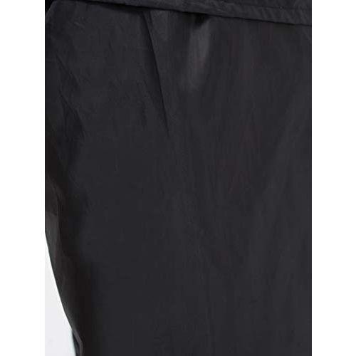 ZEEL Mens Reversible Water Fighter Raincoat | with Hood (Navy Blue, XL)
