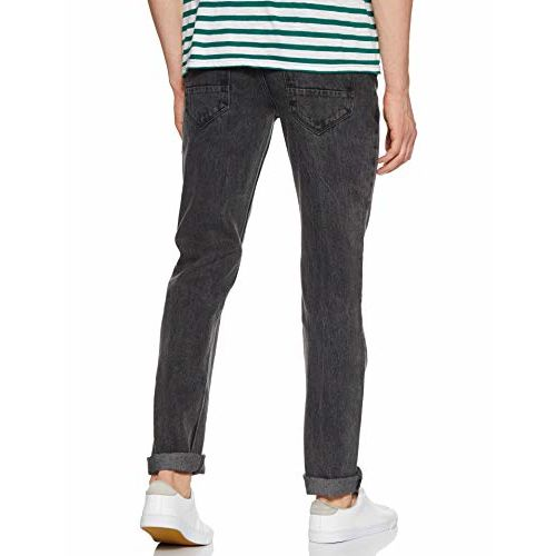 Diverse Men's Relaxed Fit Jeans (DCMDT03RC19L31-514O_Black_36)