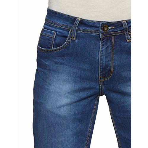 Diverse Men's Skinny Fit Jeans (DCMDT03KC24L31-569_Indigo_32)