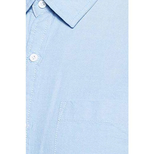 Diverse Men's Solid Slim fit Casual Shirt (DCMCF14SC14L32-3275D_ Blue S)